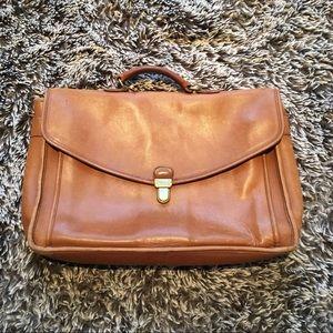 Vintage Coach briefcase brown laptop bag